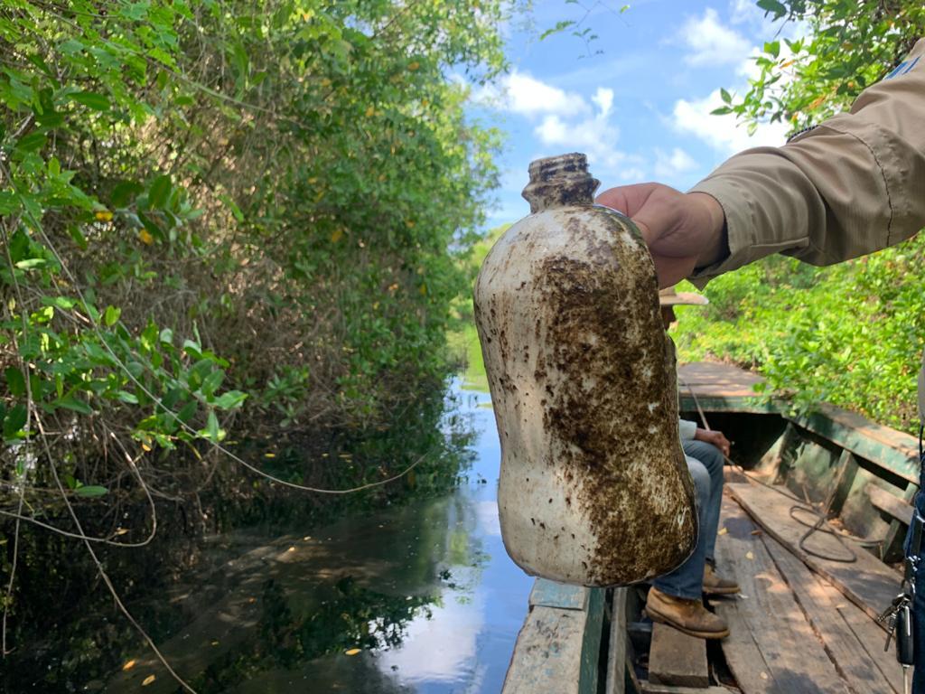 Inspección y denuncia presentada por Contaminación en Manchón Huamuchal