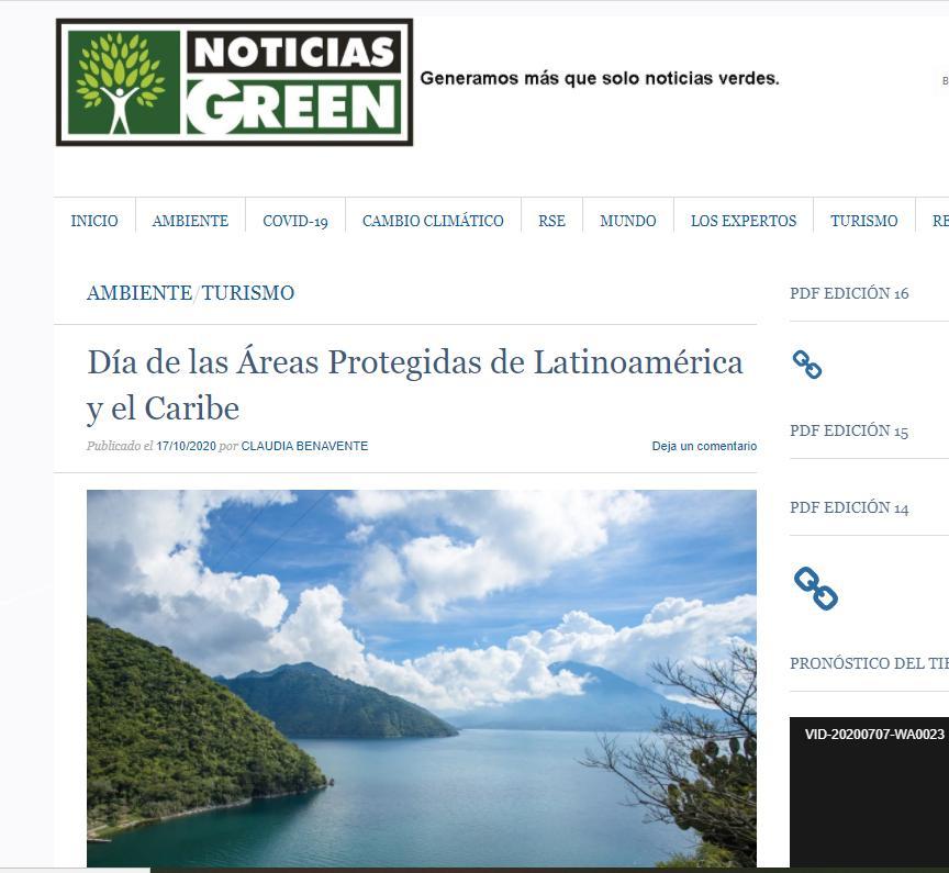 Día de las Áreas Protegidas de Latinoamérica y el Caribe
