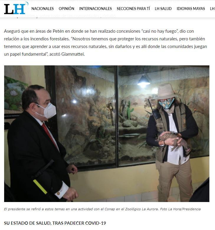 SOBRE EL TRÁFICO DE ESPECIES EXÓTICAS