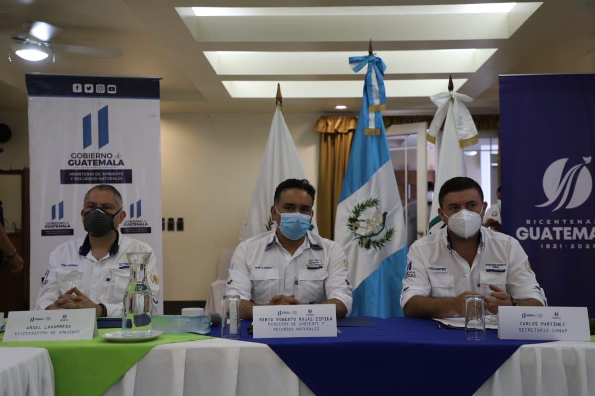 Reuniones de coordinación para la protección de la Reserva de la Biosfera Maya